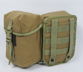 Raven Systems Molle Utility / Waterbottle Pouch Coyote Tan